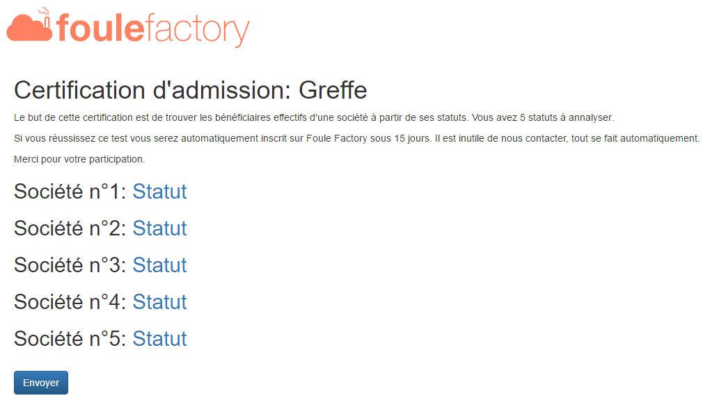 foule factory test N°1
