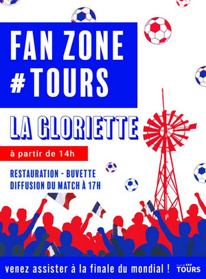 affiche fan zone tours 2018